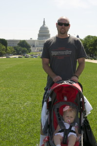 We walked back and forth in front of the capital so often this trip. DC is a great walking city!