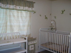 **her nursery waiting for her**